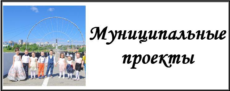 Муниципальные проекты